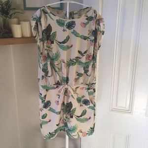 Maison Scotch Dresses - Maison Scotch botanical Acapulco dress